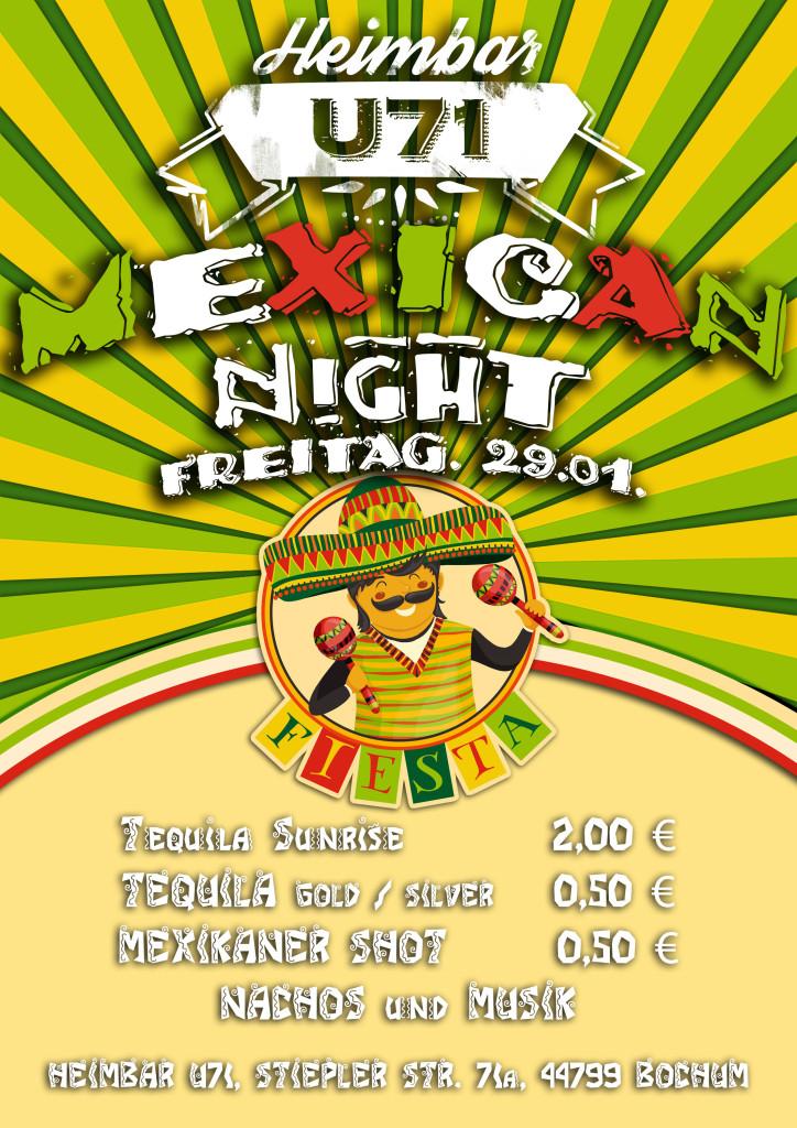 U71 - Mexican Night
