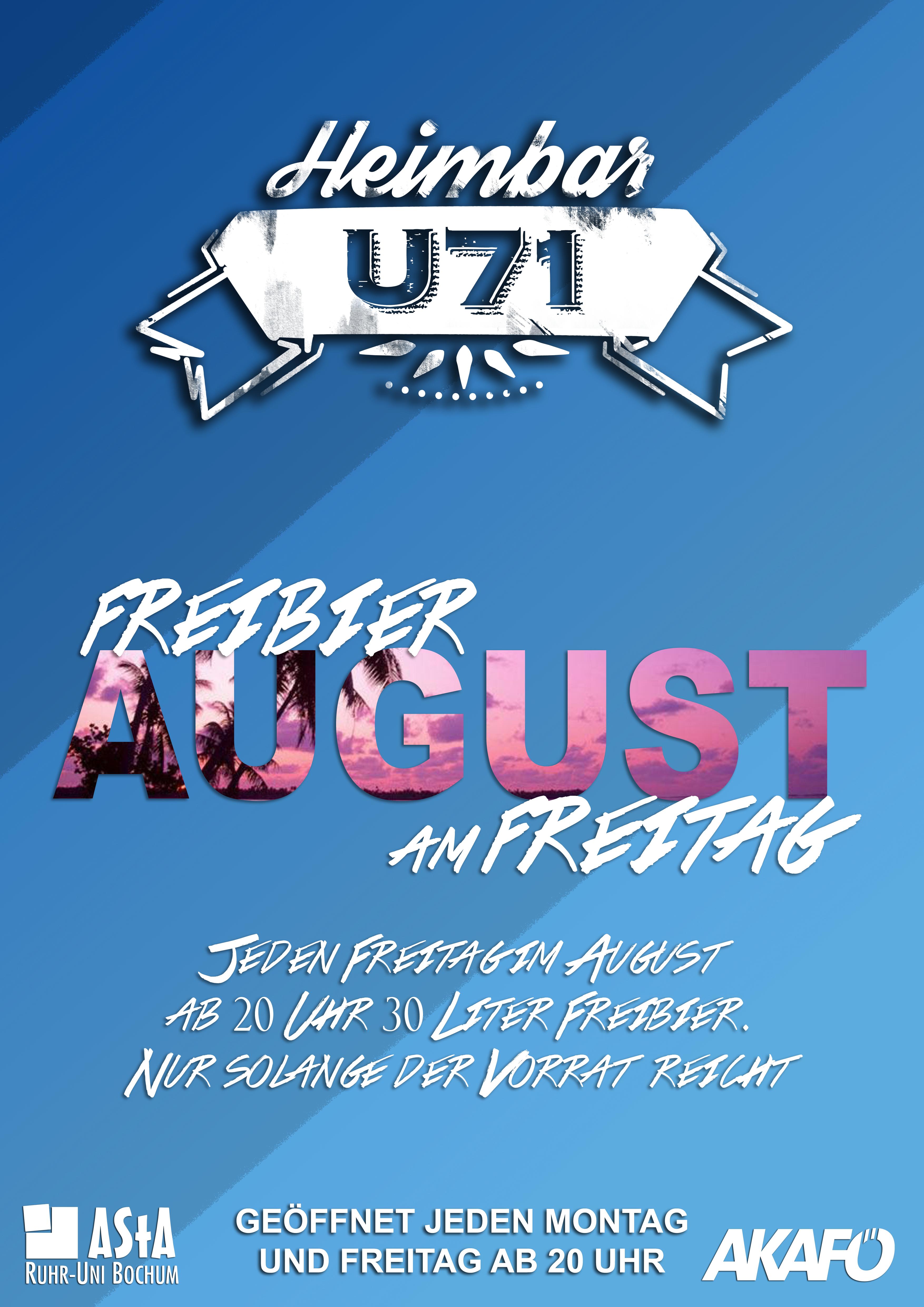 U71 - Freibierfreitagt