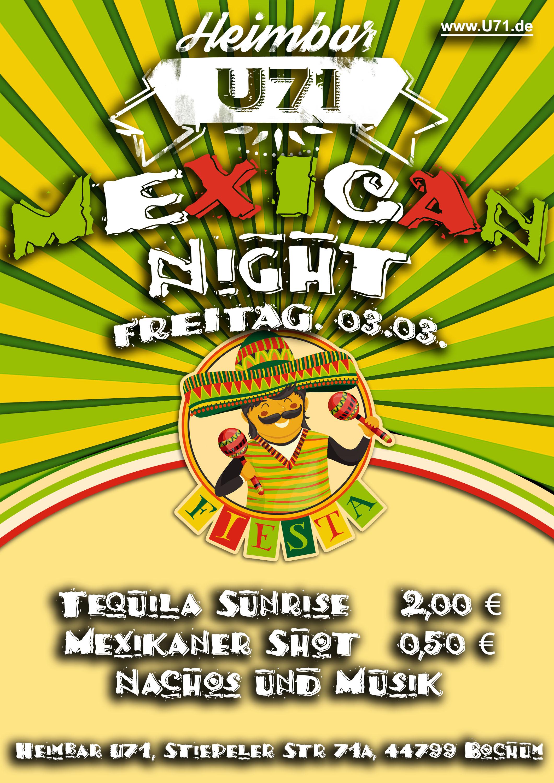 U71 - Mexican Night WS16